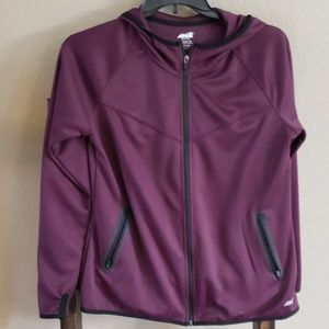 Large Avia Purple Performance Hoodie